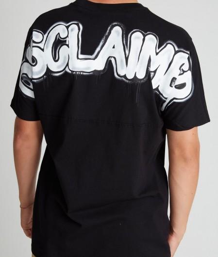 Disclaimer T-Shirt mit Logodruck Schwarz