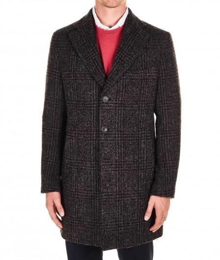 """Gender Wool blend coat """"Frank"""" dark brown"""