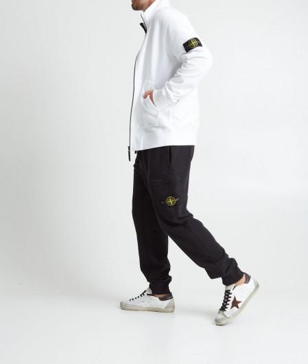 Stone Island Sweatjacket with zip white