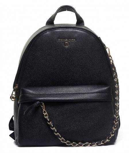 Michael Kors Backpack with chain detail black