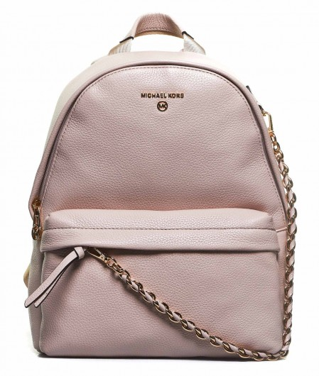 Michael Kors Backpack with chain detail rose