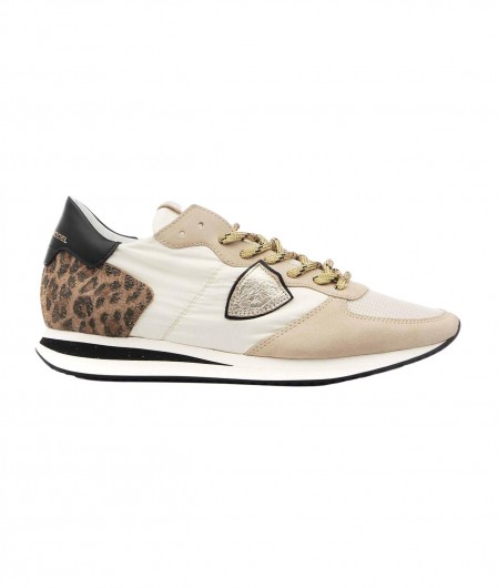 "Philippe Model Sneaker ""TRPX LOW W MONDIAL"" Creme"