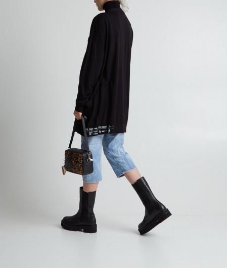 Dsquared2 Turtleneck sweater black