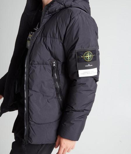 "Stone Island Jacket ""Garment Dyed Crinkle Reps NY Down"" black"