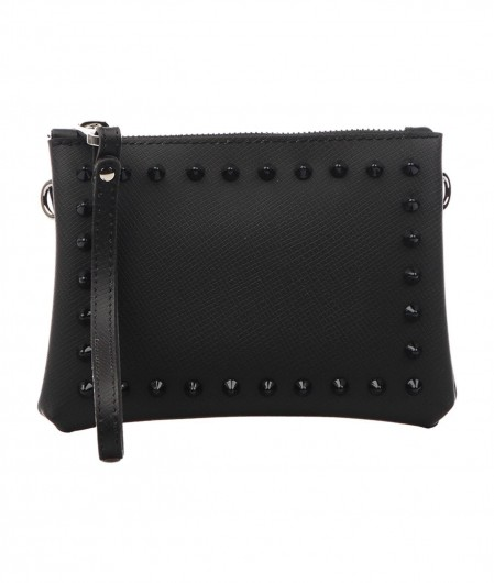 Gum  Crossbody bag Numbers with stud applications black