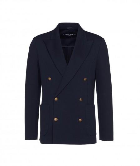 Circolo 1901 Double breasted blazer blue