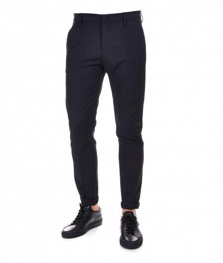 "Dondup Chinos in wool blend ""Gaubert"" dark gray"