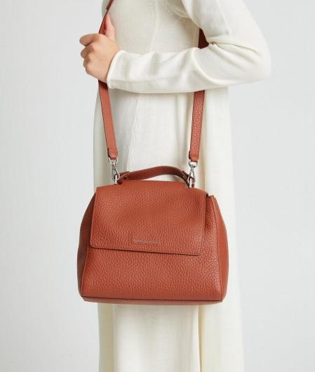 """Orciani Handbag in nappa leather """"Mini Sveva"""" red"""