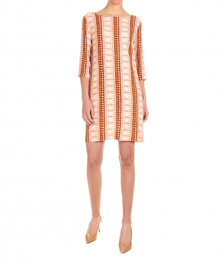 Otto d'ame Printed mini dress rose