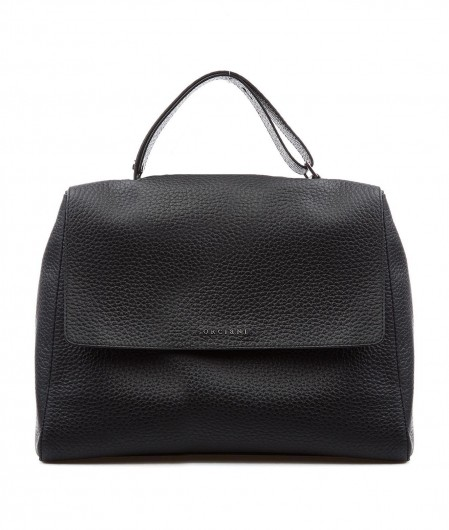 Orciani Nappa leather handbag black