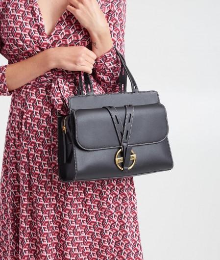 Love Moschino Handbag with buckle black