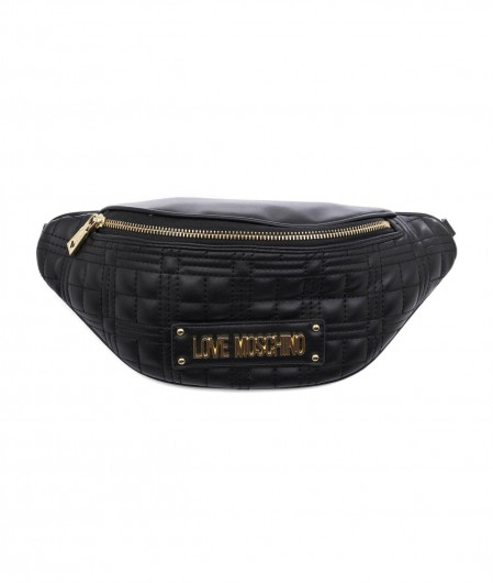 Love Moschino Bum bag quilted black