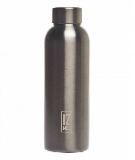 """Izmee Thermos water bottle """"Metal gun"""" gray"""