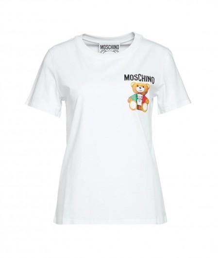 """Moschino T-Shirt """"Moschino"""" Weiß"""