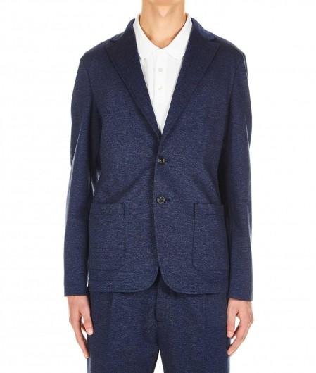 T Jacket Jersey-Blazer Dunkelblau