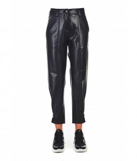"Cambio Eco leather pants ""Malin"" black"