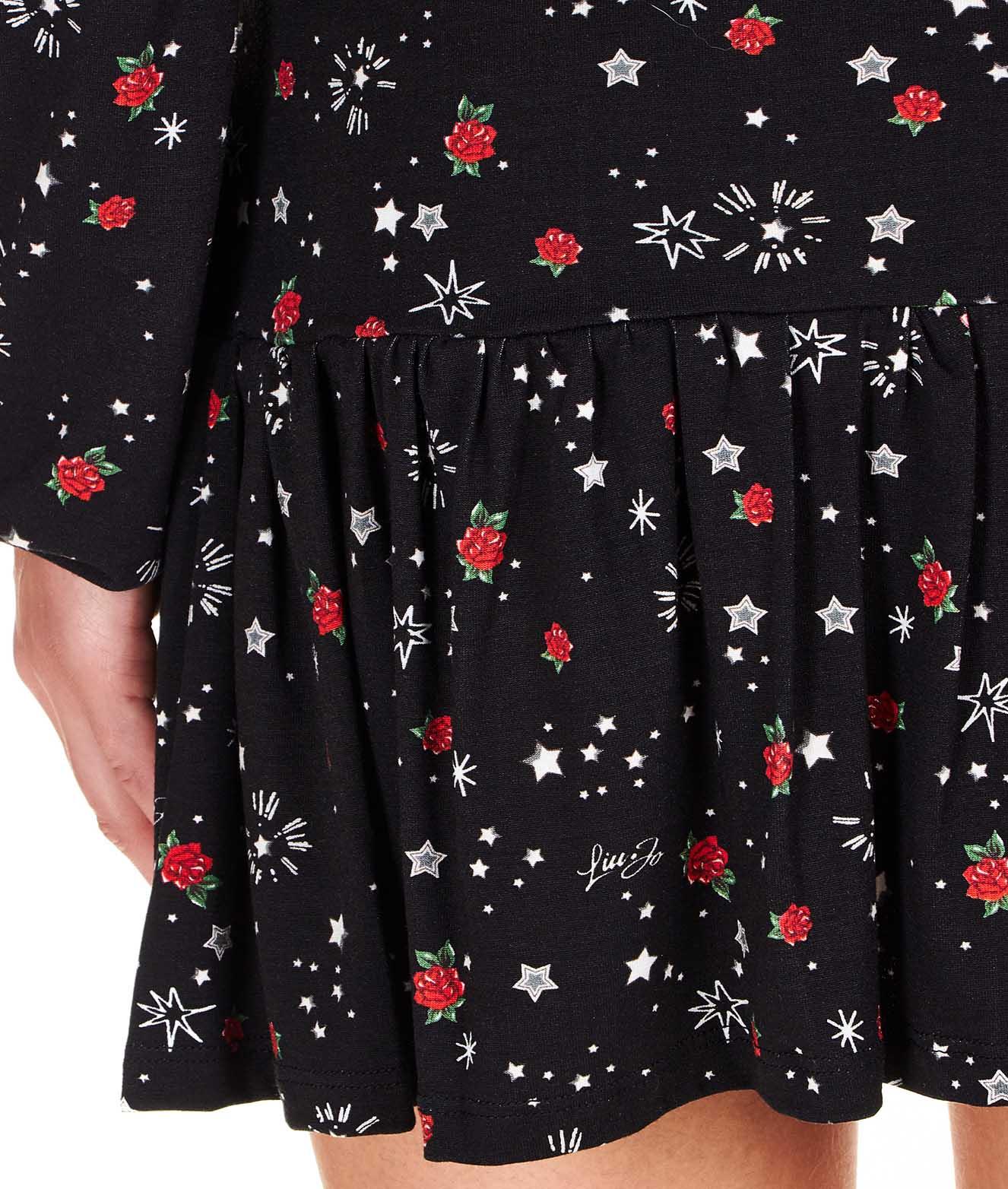 Mini abito floreale