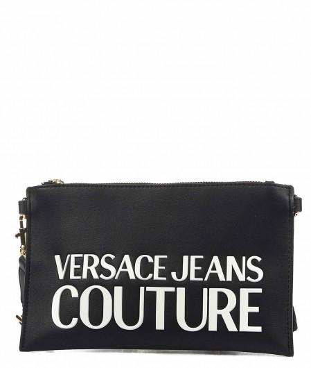 Versace Jeans Couture Pochette mit Logoschriftzug Schwarz