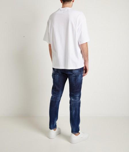Dsquared2 Relax Long Crotch Jean Blau
