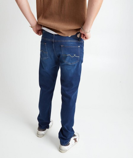 """7 for all mankind Jeans """"Slimmy Tapered"""" blue"""