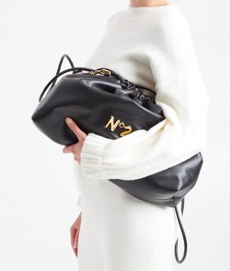 "N°21 Shoulderbag Big ""Eva"" black"