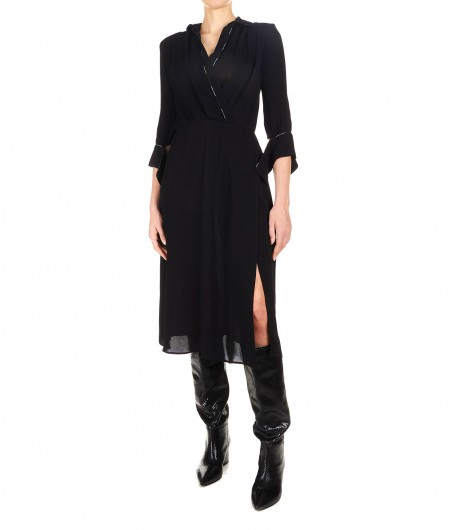 Elisabetta Franchi Midi dress black