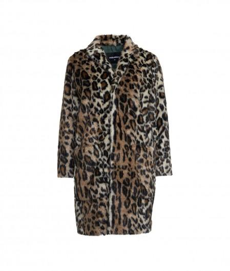 Dsquared2 Animal printed eco fur jacket multicoloured
