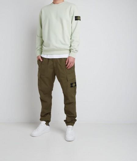 Stone Island Sweatshirt Hellgrün