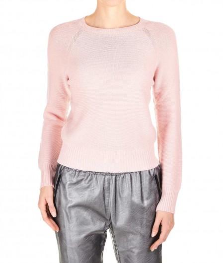 Kaos Slim fit sweater rosa chiaro
