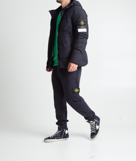 """Stone Island Jacket """"Garment Dyed Crinkle Reps NY Down"""" navy"""