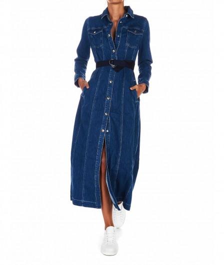 Jacob Cohen  Denim shirtwaist dress blue