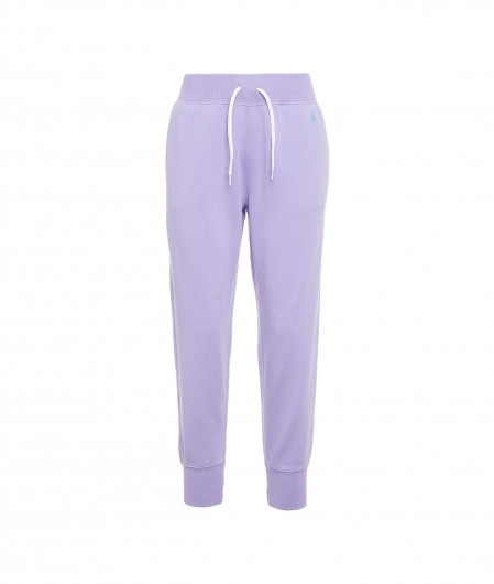 Polo Ralph Lauren Joggers with logo embroidery violet