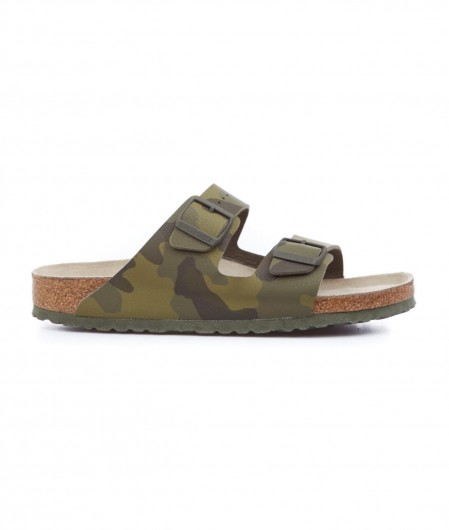 Birkenstock Arizona BS Sliders Grün