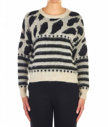 "8PM Knit sweater ""Sgabello"" beige"