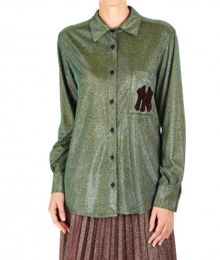 """5 Progress Glitter shirt """"Butterfly"""" green"""