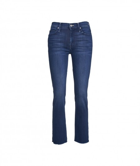 """Mother Jeans """"Rascal Ankle Snippet"""" Blau"""