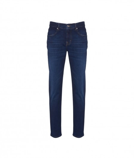 """7 for all mankind Jeans """"Slimmy Tapered"""" navy"""