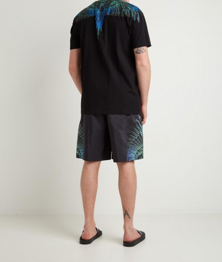 "Marcelo Burlon T-Shirt ""Wings Regular"" Schwarz"