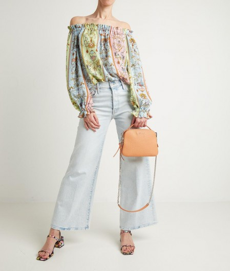 "Mother Wide leg Jeans ""Finale"" Blau"
