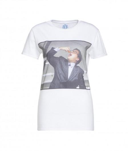 """Elite 55 T-Shirt """"Fish"""" Weiß"""