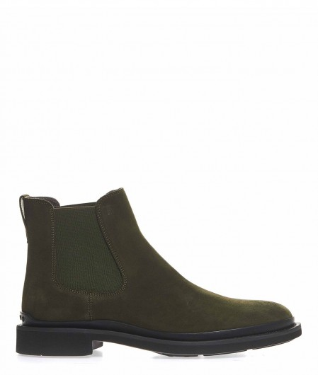 Tod's Ankle boots in suede olive