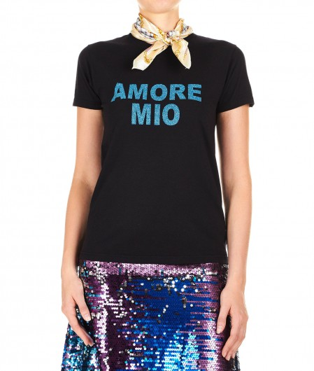 5 Progress T-Shirt Amore Mio Schwarz