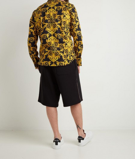 Versace Jeans Couture Hemd mit Baroque Print Gold