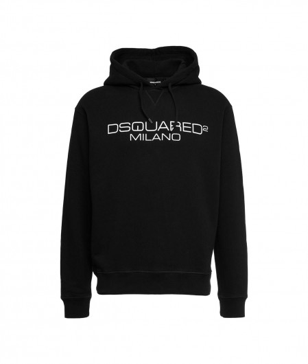Dsquared2 Hoodie with logo black