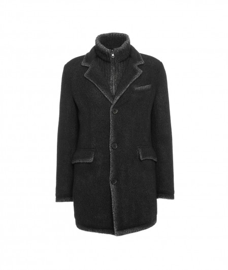 Gimo's Jacket in wool black