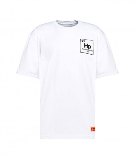 Heron Preston T-Shirt with logo patch white