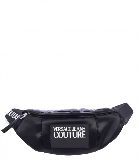 Versace Jeans Couture Waist bag in tech-fabric black
