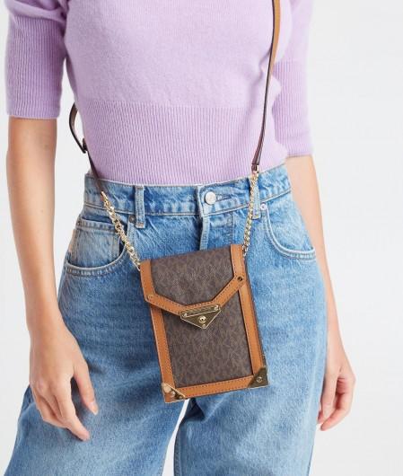 """Michael Kors Mini bag """"Grace"""" dark brown"""