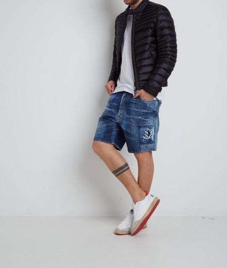 Dsquared2 Denim Shorts Blau