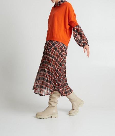 Semicouture Sweater Orange